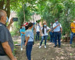 Jornada de sensibilización para el manejo de residuos sólidos en Cascajal Bolívar
